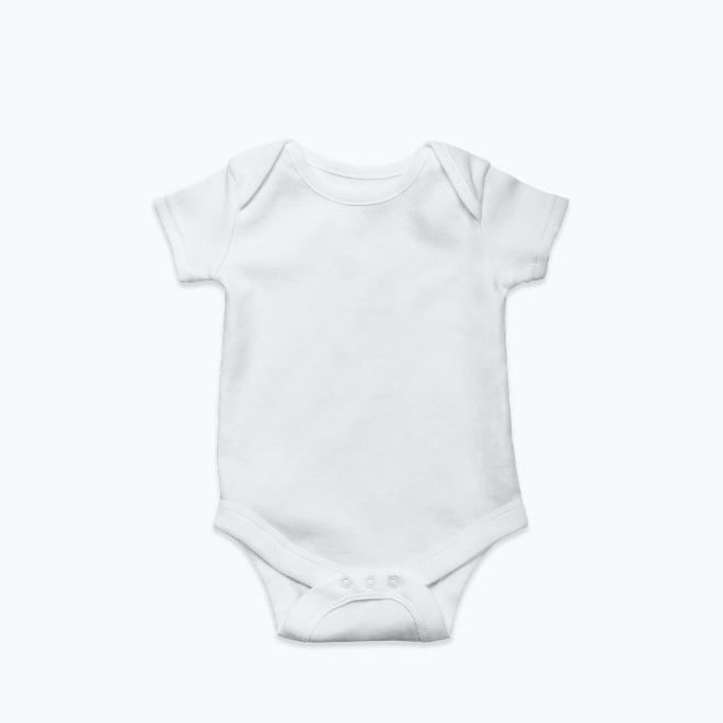 Baby short sleeve bodysuit