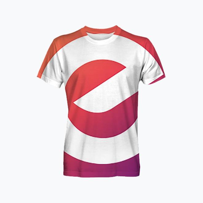 Men's  full print t-shirt
