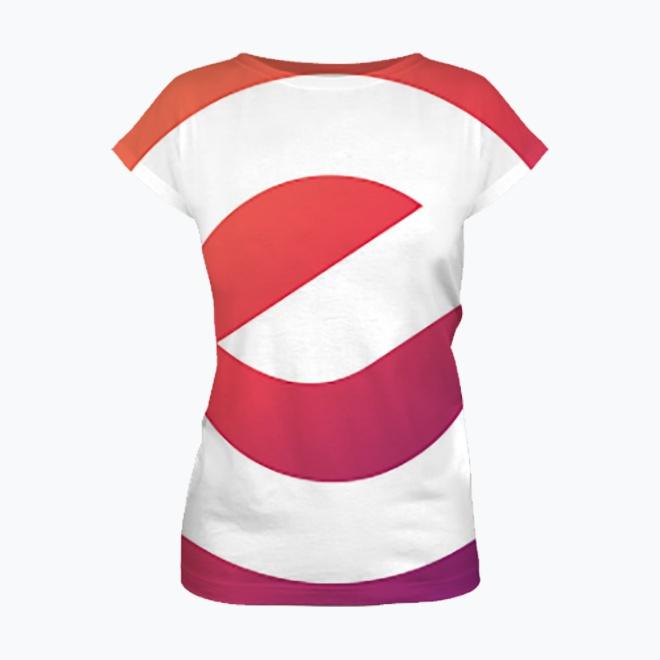 Women's full print t-shirt